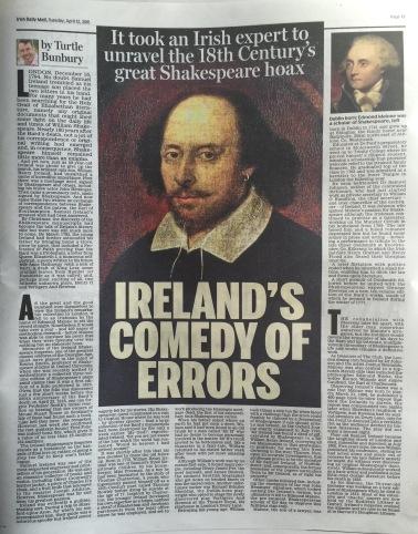Shakespeare Article