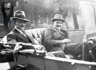 Emmet Dalton with Michael Collins - Getty has this