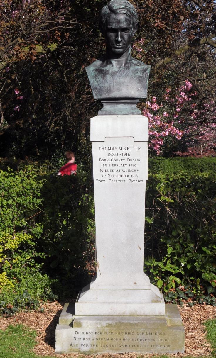 Tom Kettle bust 1 by Patrick Hugh Lynch